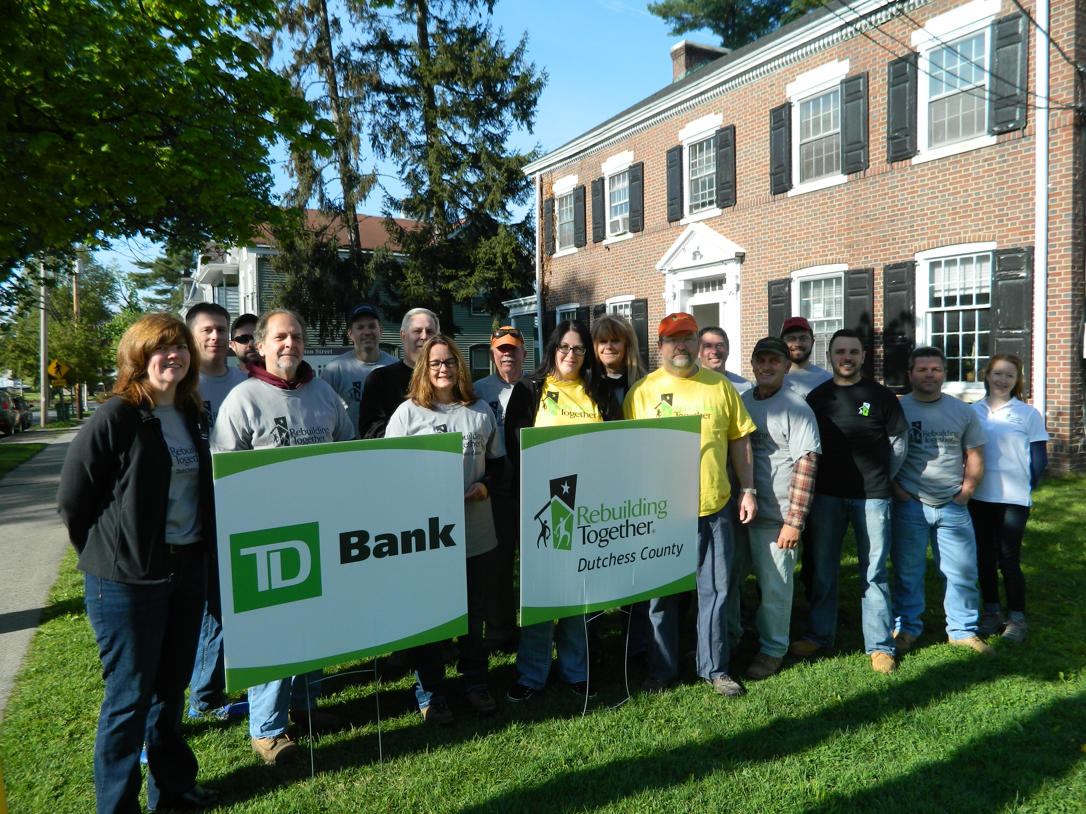 TD Bank volunteers