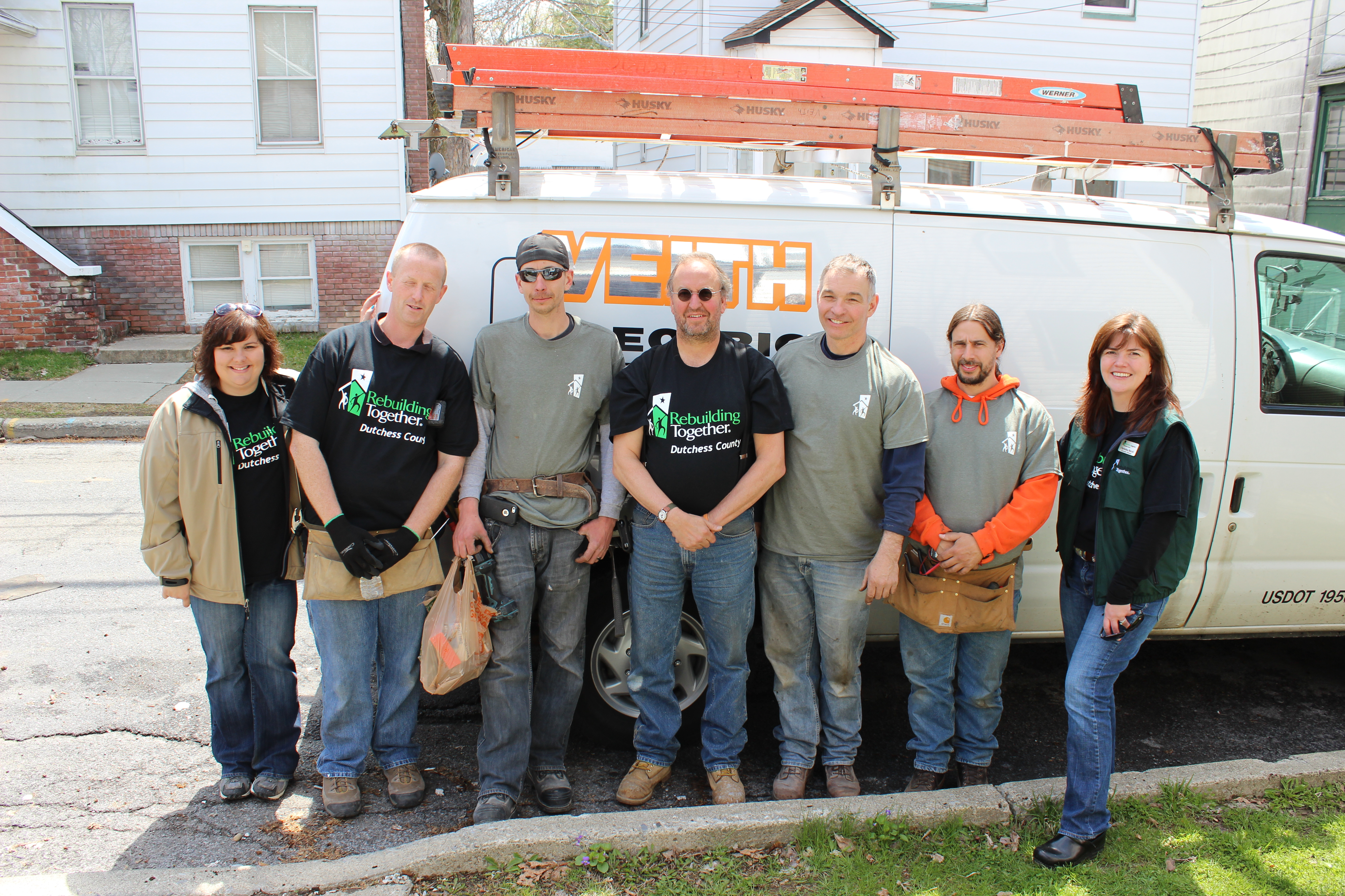 Veith Electric with RTDC staff and volunteers